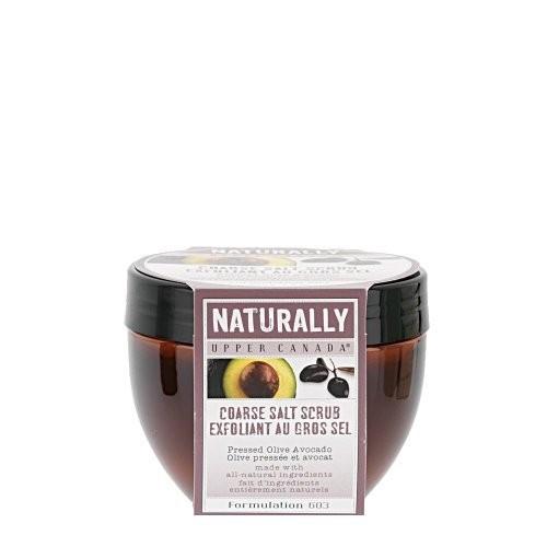 Upper Canada Soap   Candle Upper Canada Soap & Candle Pressed Olive Avocado Coarse Salt Scrub, 9.6-Ounces