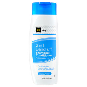 DG Body 2-in-1 Dandruff Shampoo Plus Conditioner - 14.2 oz
