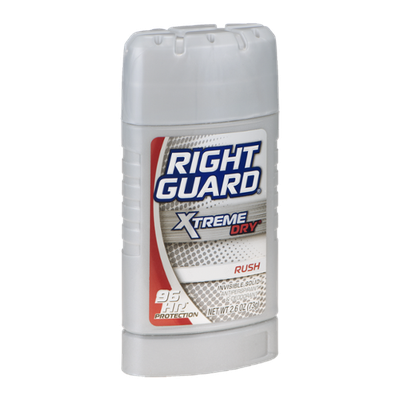 Right Guard Xtreme Dry Invisible Solid Antiperspirant & Deodorant Rush