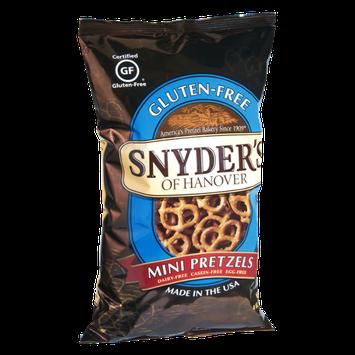 Snyder's Of Hanover Gluten-Free Mini Pretzels