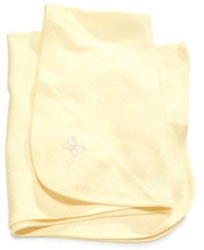 Little Me Baby Girls' Yellow Butterfly Blanket Kid's