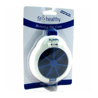 Fit and Healthy Rotating Pill Case PC 1 Case