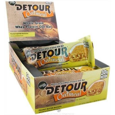 Detour -Oatmeal Whole Grain Protein Bar -peanut butter banana 12pk