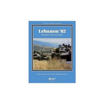 DG: Lebanon 82, Operation Peace for Galilee, Folio Board Game
