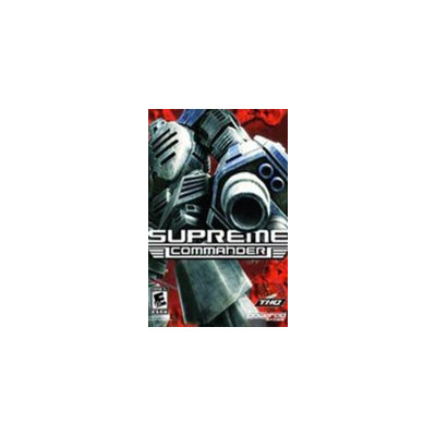 Gas Powered Games Supreme Commander Gold
