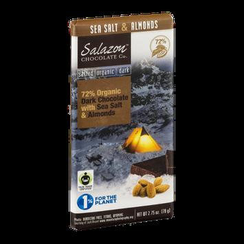 Salazon Chocolate Co. Organic Dark Chocolate Sea Salt & Almonds