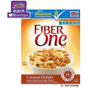 Fiber One Caramel Delight Cereal