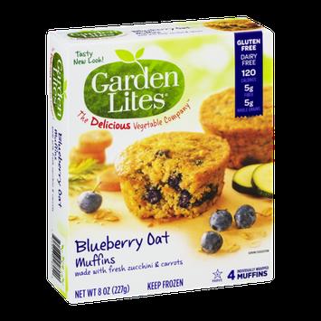 Garden Lites Blueberry Oat Muffins - 4 CT
