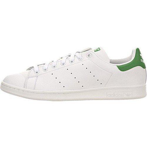 Adidas Men's Stan Smith Originals Casual Shoe [White/White/Fairway, 11 D(M) US]