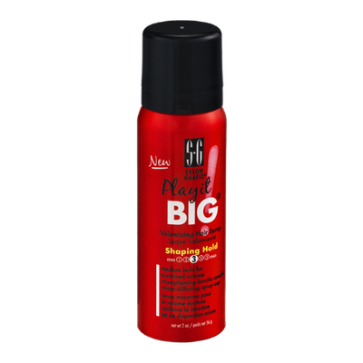 Salon Grafix Play it BIG Volumizing Hair Spray Shaping Hold