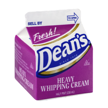 Dean's Whipping Cream Heavy