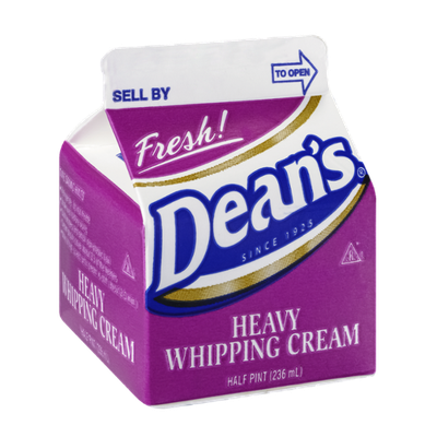 Dean's Whipping Cream Heavy