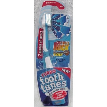 Turbo Tooth Tunes Battery Powered Toothbrush, Queen