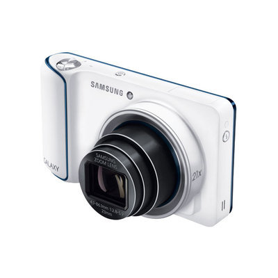 Paradise Eximport, Inc. Remanufactured Samsung 1080P HD, 16.3MP, 8GB WIFI Galaxy Android Camera (WHITE) - EK-GC110ZWAXAR