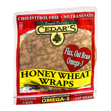 Cedar's Wraps Honey Wheat