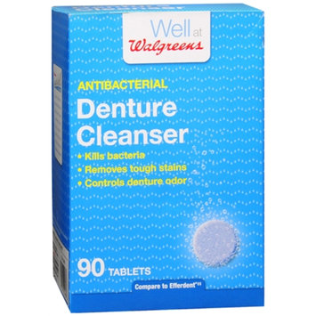 Walgreens Antibacterial Denture Cleanser Tablets, 90 ea
