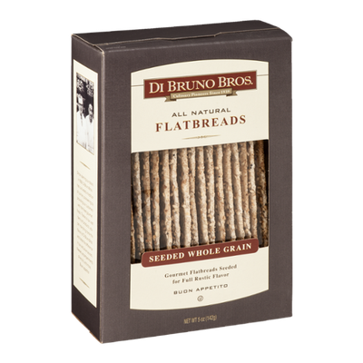 Di Bruno Bros. All Natural Flatbreads Seeded Whole Grain