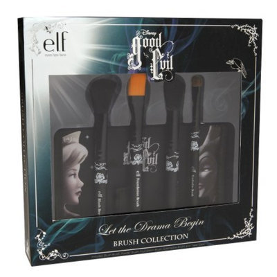 e.l.f. Disney Good vs Evil Let the Drama Begin Brush Collection