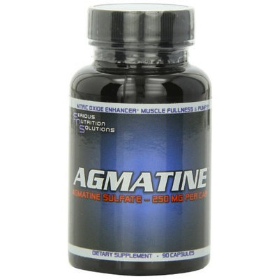 Serious Nutrition Solution Agmatine Capsulesules, 90 Count