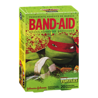 Johnson & Johnson Band-Aid Brand Adhesive Bandages - Teenage Mutant Ninja Turtles - 20 CT