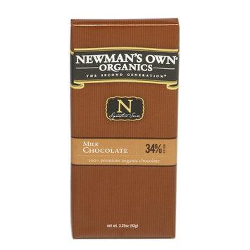 Newman's Own Organics 3.25oz Milk Chocolate Bar