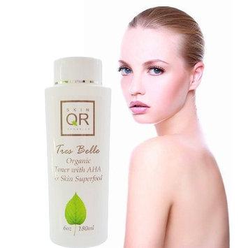 Skin QR Organics Tres Belle Organic BrighteningToner with AHA & Skin Superfood, 6oz
