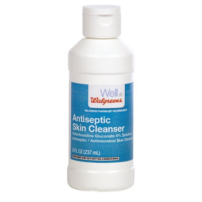 Walgreens Antiseptic/Antimicrobial Skin Cleanser