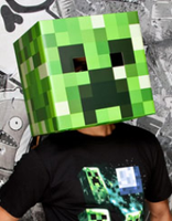 Jinx Minecraft Creeper Head