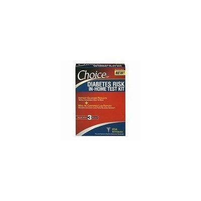 Choice Organic Choice DM In-Home High Sugar Level Test Kit, Early Detection 1 kit