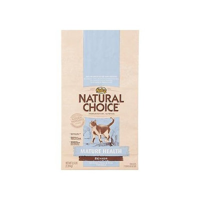 Natural Choice Cat Natural Choice Chicken Meal and Rice Formula Mature Health Senior Cat Food, 7-Pound