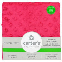 Triboro Quilt Co. Carter's Solid Changing Pad Covr Magenta