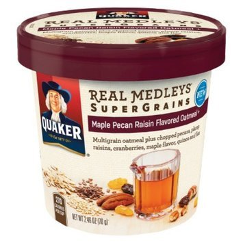 Quaker Real Medleys Super Granis Maple Pecan Raisin 2.46 oz