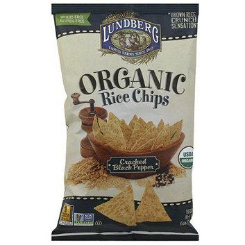 Lundberg Family Farms Cracked Black Pepper Organic Rice Chips