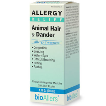 bioAllers Animal Hair & Dander Allergy Relief