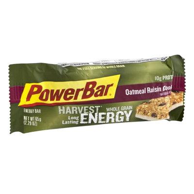 PowerBar Harvest Whole Grain Energy Bar Long Lasting Oatmeal Raisin Cookie