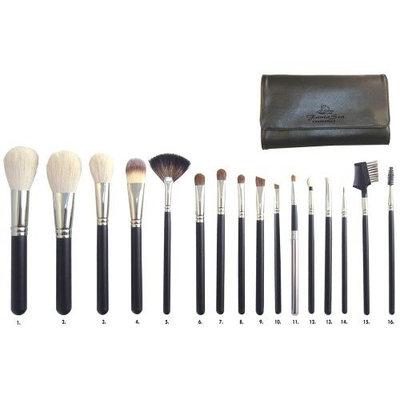 FantaSea 16 piece Professional Cosmetic Brush Set