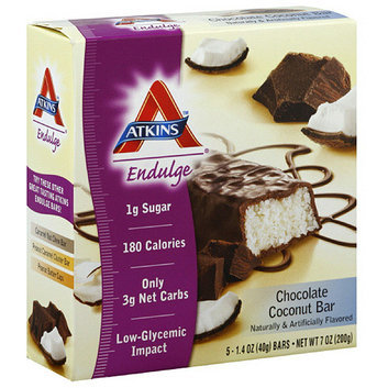Atkins Chocolate Coconut Bars