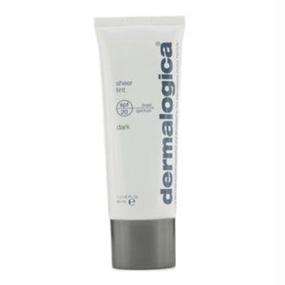 Dermalogica Sheer Tint Sunscreen Lotion SPF 20, Dark, 1.3 Fluid Ounce