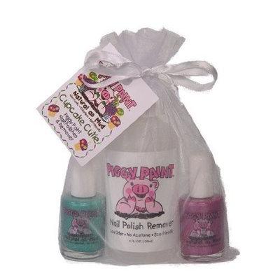 Piggy Paint Nail Polish Gift Set - Cupcake Cutie