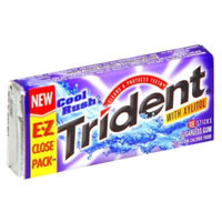 Trident Gum, Sugarless, Cool Rush, 18 sticks