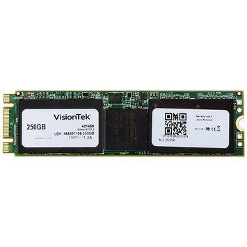 Visiontek 250GB Internal Solid State Drive - M.2 - 550MB/s Maximum Read Transfer Rate - 500MB/s Maximum Write Transfer Rate - Hot Pluggable - M.2 2280 - 256-bit Encryption Standard