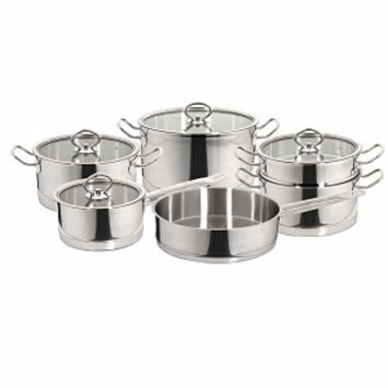 Magefesa Vitreux Stainless Steel Cookware Set, 10 piece, 1 ea
