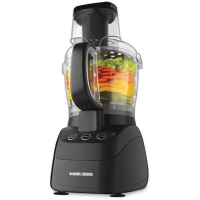 Black & Decker 500-Watt Wide-Mouth Food Processor Model FP2500S