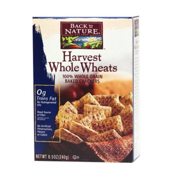 Back to Nature Harvest Whole Wheat Crackers, 8.5 oz