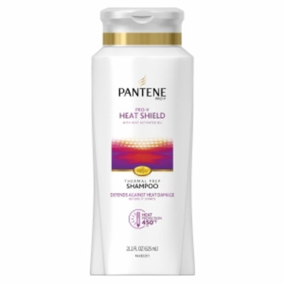 Pantene Pro-V Heat Shield Thermal Prep Shampoo, 21.1 fl oz