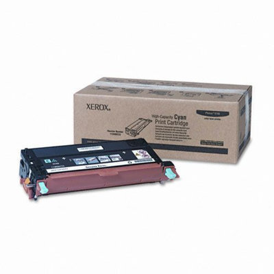 Xerox 113R00723 Print Cartridge, High-Yield, Cyan