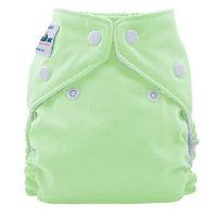 FuzziBunz Perfect Size Cloth Diaper, Mint, Large 25-40+ lbs