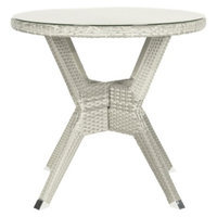 Safavieh Samos Wicker Patio Bistro Table