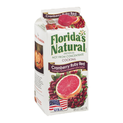 Florida's Natural Juice Cocktail Cranberry Ruby Red
