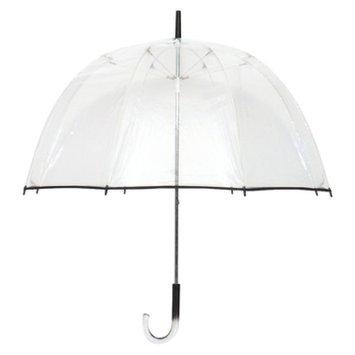 Futai Clear Bubble Umbrella with Black Trim